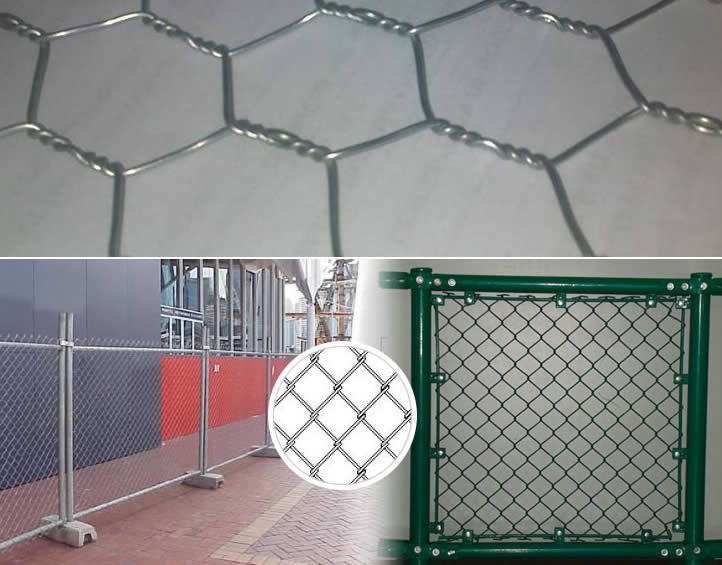 Hexagonal Mesh, Chain Link Mesh and Welded Mesh for Fencing Uses
